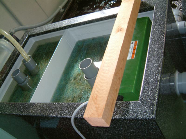 水槽据え付け工事
